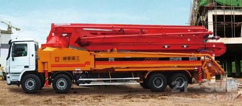 通亚汽车CTY5410THB-52ZX170混凝土臂架泵车