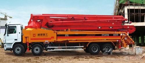 通亚汽车CTY5410THB-55ZX170混凝土臂架泵车