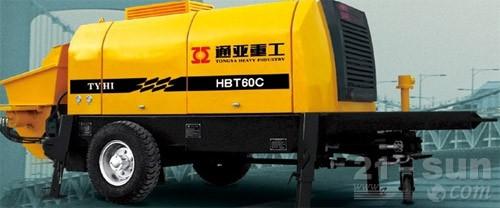 通亚汽车HBT60C-1413-90S拖泵