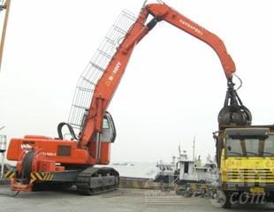 邦立重机WZYD50-5抓钢抓料机