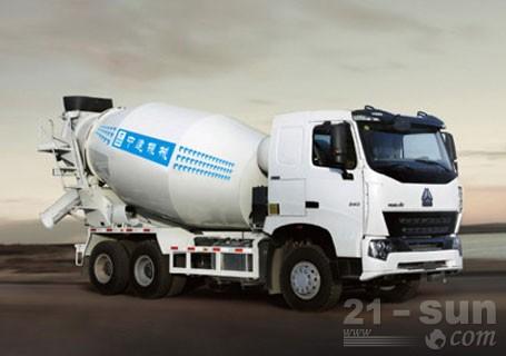 中建机械JGC5257GJB混凝土搅拌运输车