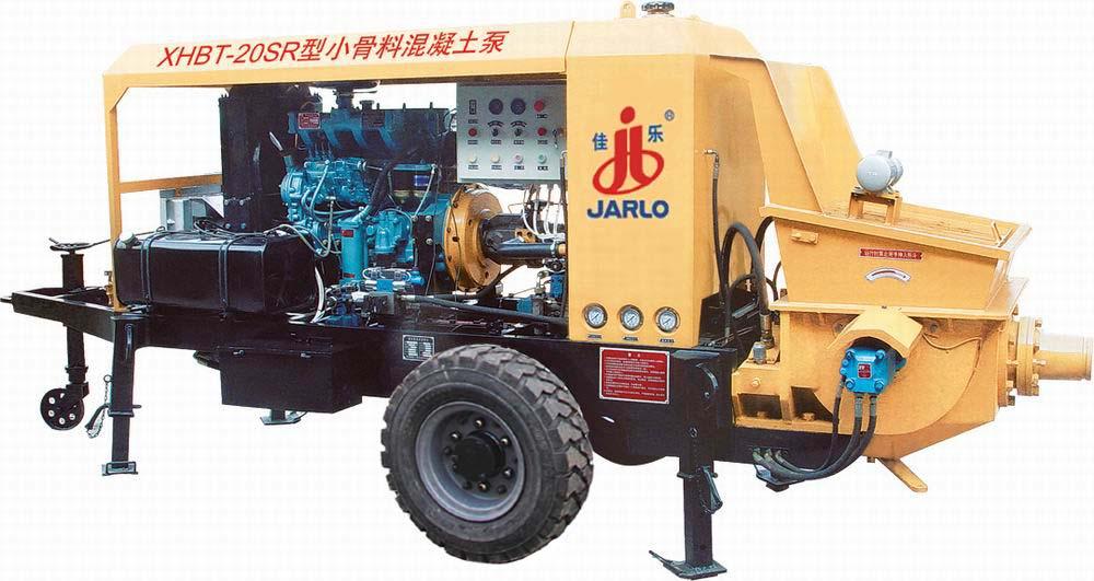 佳乐XHBT-20SR小骨料混凝土泵