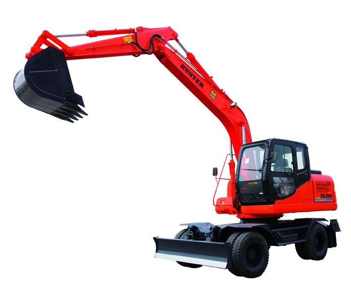恒特HTL150-8轮式挖掘机