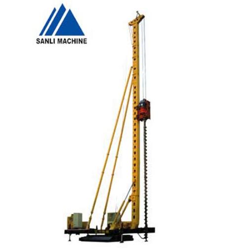 三力机械CFG-20长螺旋钻孔机