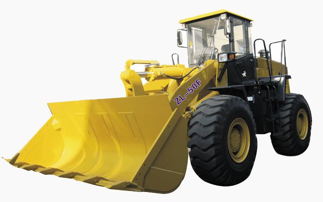 鸿源ZL50轮式装载机