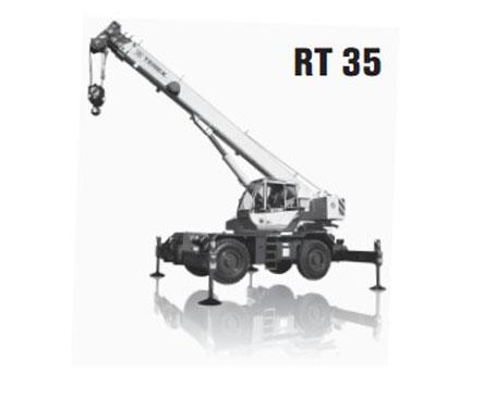 特雷克斯RT 35汽车起重机