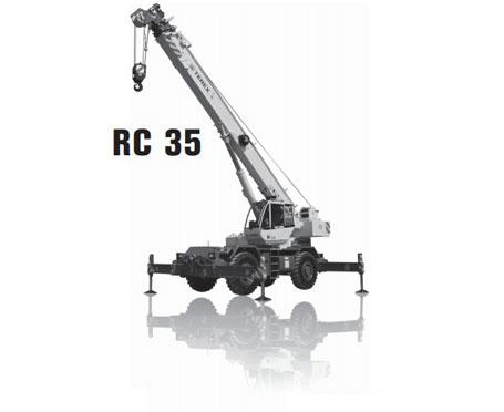 特雷克斯RC 35汽车起重机