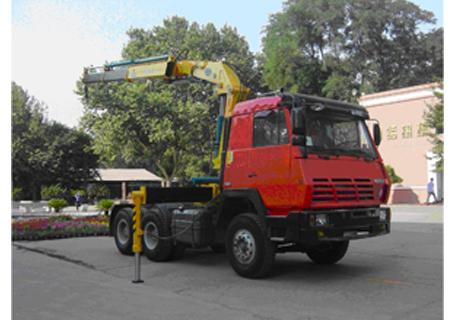 石煤QYS-8ZⅢ折臂式随车起重机