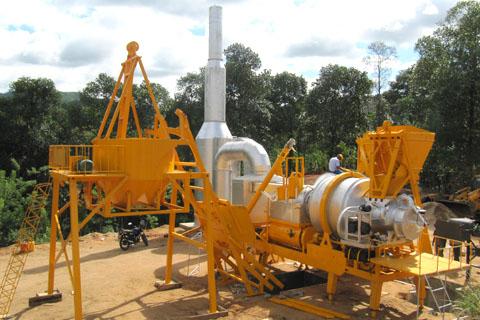 铁拓机械QLB系列沥青混合料搅拌设备