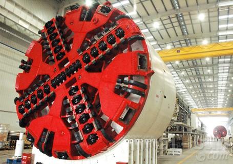 铁建重工ZTE复合式土压平衡盾构机