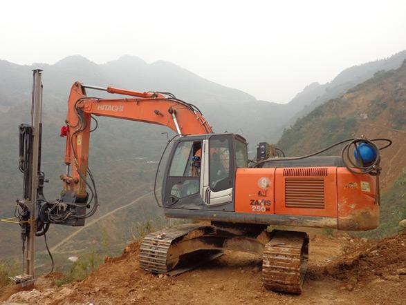 恒日科技90C挖机钻(全液压型)