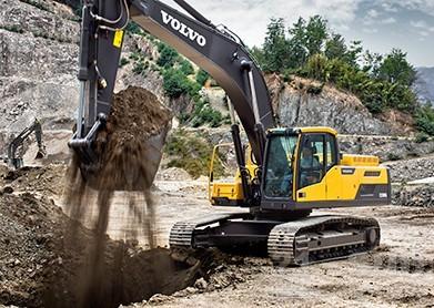 沃尔沃EC300D挖掘机