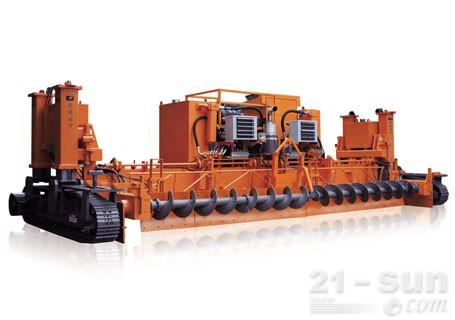 华通动力1220MAXI-PAV滑模式水泥摊铺机
