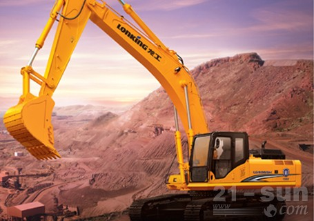 龙工LG6365H挖掘机