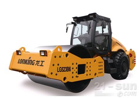 龙工LG523B6机械驱动单钢轮压路机