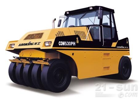 龙工LG530PH轮胎压路机