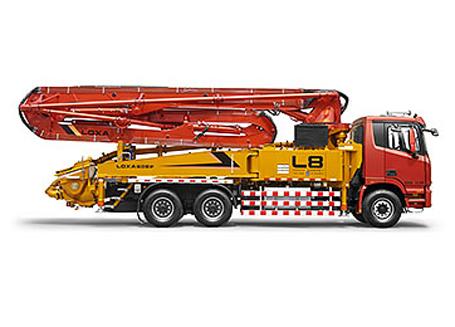 雷萨重机BJ5293THB-1混凝土泵车
