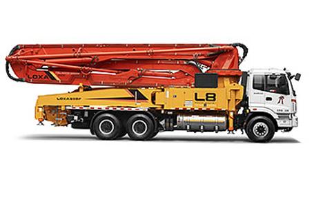 雷萨重机BJ5439THB-1混凝土泵车