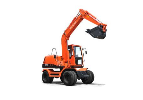 新源机械XY90轮式挖掘机