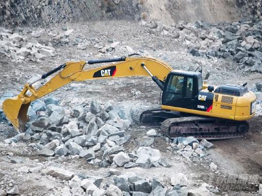 卡特彼勒329D2挖掘机