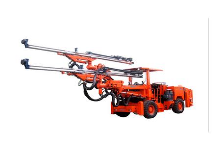 鑫通机械DW2-45轮胎式全液压凿岩台车