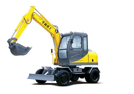 华鑫重工HXL-60(60B)轮式挖掘机