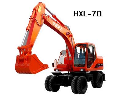 华鑫重工HXL-70轮式挖掘机