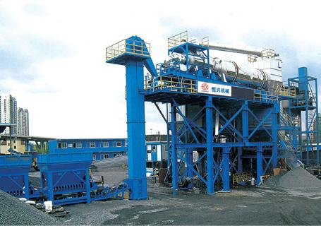 恒兴机械RLZB系列固定式沥青混合料再生搅拌设备
