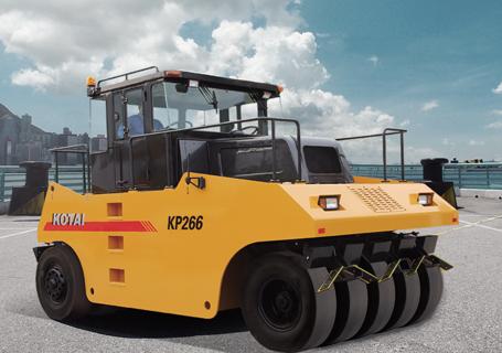 科泰重工KP266轮胎压路机