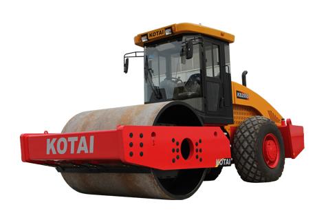 科泰重工KS255S单钢轮压路机