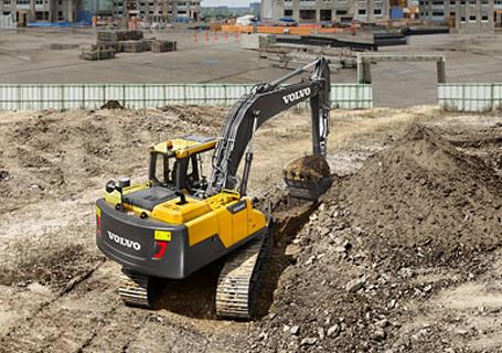 沃尔沃EC170DL挖掘机
