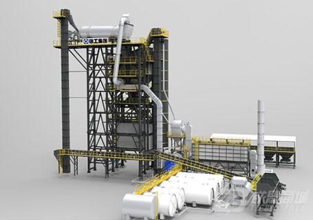 徐工XRP130XAP系列沥青厂拌热再生设备