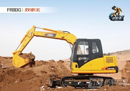 雷沃重工FR80G挖掘机(效率王)