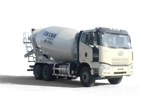 徐工XSC3307解放系列三桥混凝土搅拌运输车