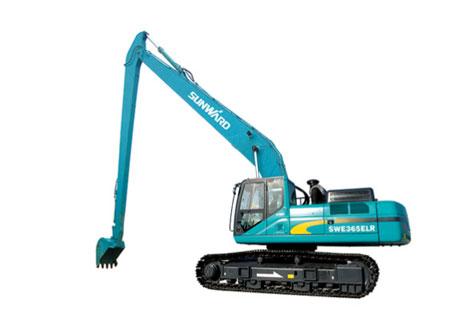 山河智能SWE365ELR加长臂挖掘机