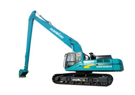 山河智能SWE230ELR加长臂挖掘机