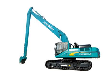 山河智能SWE210ELR加长臂挖掘机