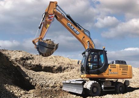 凯斯WX218轮式挖掘机