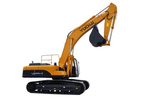 玉柴YC360LC-8挖掘机