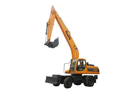 詹阳动力JYL621ELD(加长臂)轮式挖掘机