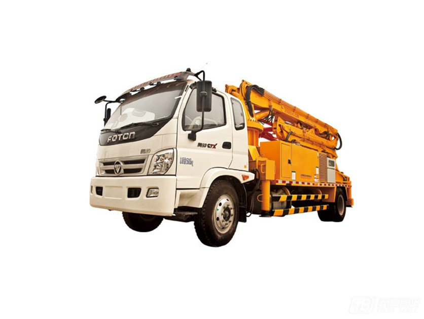 犀牛重工XND5161-25M臂架泵车