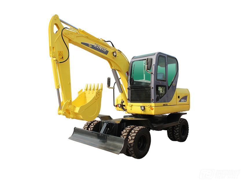 犀牛重工XN65-4L轮式挖掘机