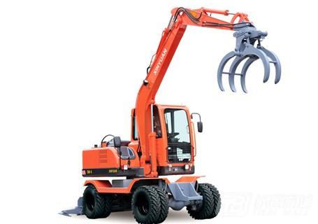 新源机械XY75W-8轮式挖掘机