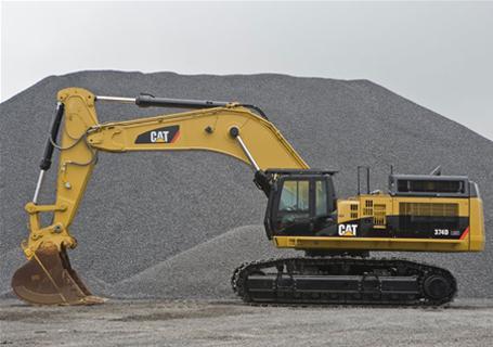 卡特彼勒374DL挖掘机