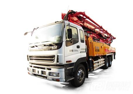 徐工HB46K(五十铃底盘)混凝土泵车