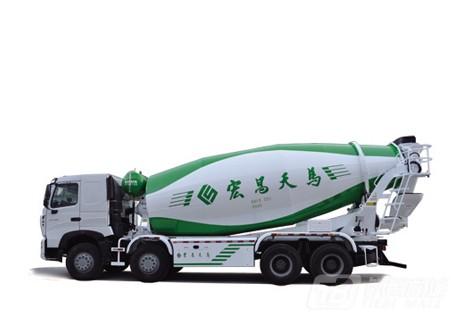 宏昌天马LNG混凝土搅拌运输车