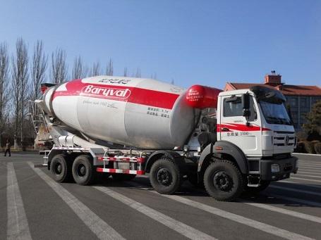 巴里巴北奔B20N混凝土搅拌运输车