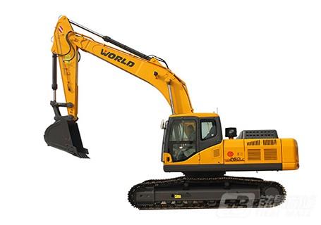 沃得重工W2260LC-8挖掘机