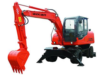 沃尔华DLS890-9A轮式挖掘机