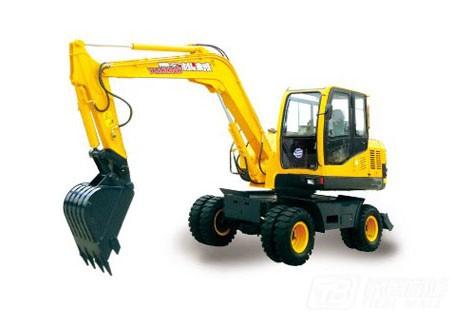 愚公机械WYL75X4-9轮式挖掘机